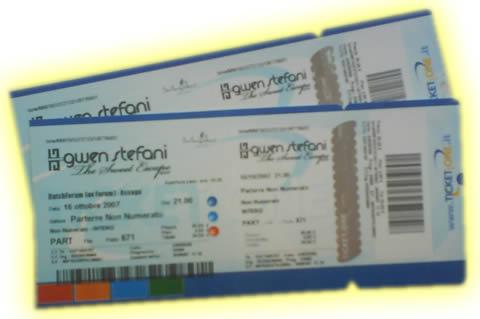 Biglietti concerto Gwen Stefani